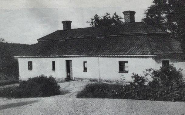 Birgittastugan innan den flyttades.