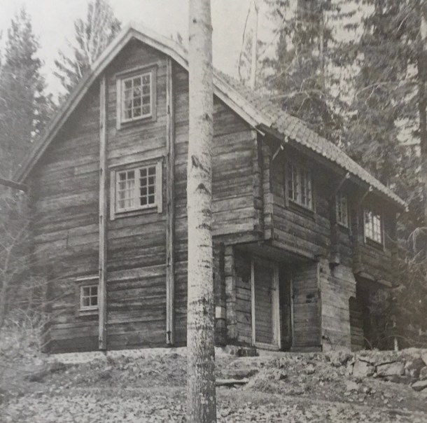 The loft shed at Örsvik in Tidersrum parish.