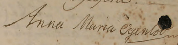 Anna Maria Ögenlod 1757
