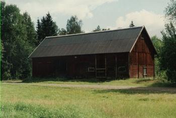 Dunders ekonomibyggnad. Norra Solberga Hembygdsförening.
