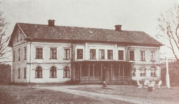 Gransbo säteris manbyggnad.