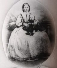Anna Charlotta Krogman with her daughter Hedvig. Photo kindly provided by Chris-Marié Wessels.