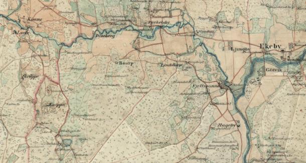Ryckelsby, Boarp och Knippe