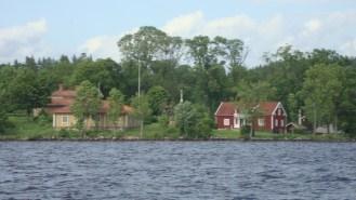 Liljeholmen från sjösidan i dag.