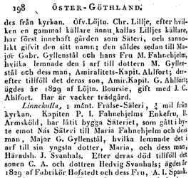 Ur Erik Tunelds geografibok: Liljeholmen och Linnekulla.