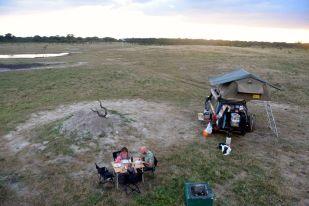 camping i Hwange