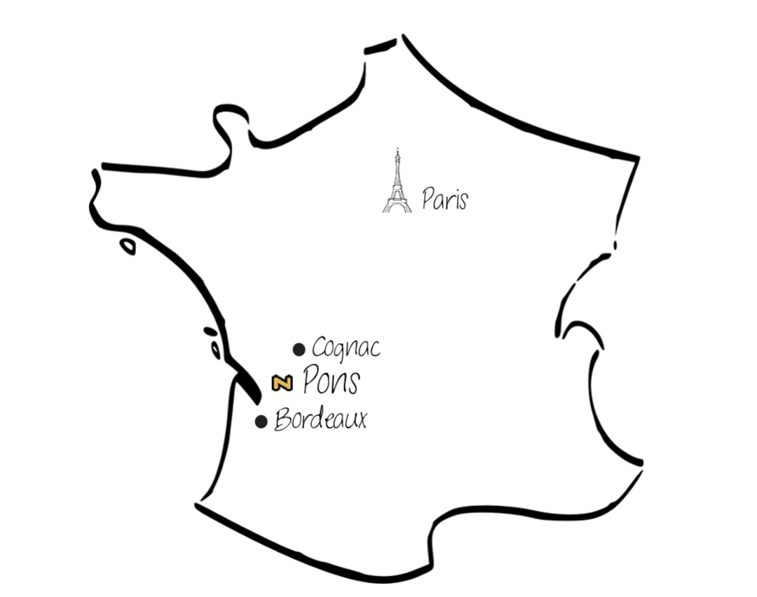 Carte Famille Naud Pons
