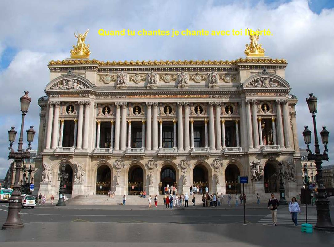 Nabucco – Nana Mouskouri – Palais Garnier