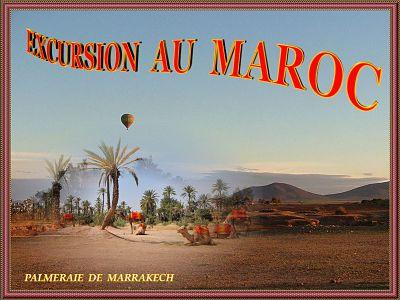 Excursion au Maroc