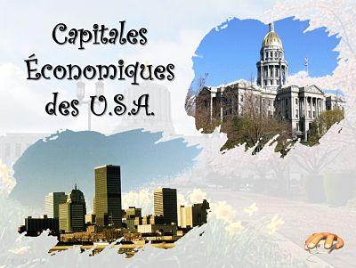 Capitales des Etats aux Etats-Unis