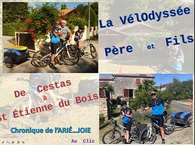 La Vélodyssée – Père et Fils – De Cestas à Saint-Etienne-du-Bois