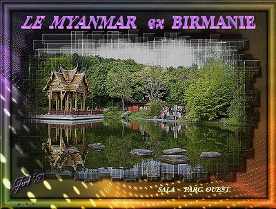 Le Myanmar, ex Birmanie