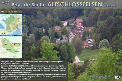 Pays de Bitche – Altschlossfelsen (Moselle)