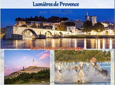 Lumières de Provence avec l'Arié…Joie – Entre Vantoux et Camargue