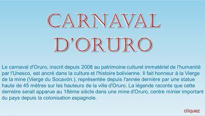 Le carnaval d'Oruro – Papy Michel