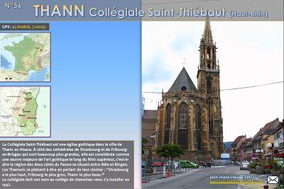 Thann – Collégiale Saint-Thiébaut (Haut-Rhin)