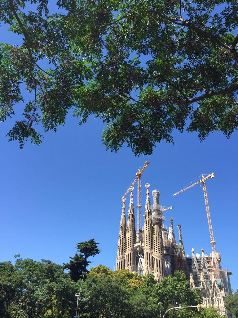 1 an de vie en famille à Barcelone