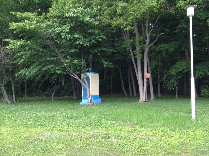 厚真町 大沼野営場 トイレ