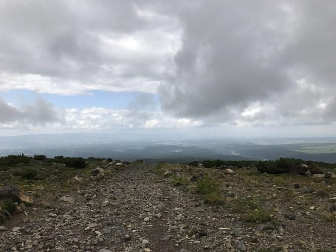 十勝岳 登山 トレッキング