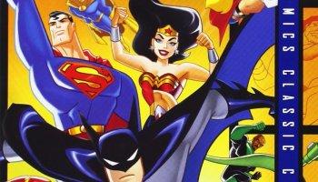 Justice League Unlimited season 1 - Superman, Batman, Wonder Woman, Flash, Green Lantern, Hawkgirl, Martian Manhunter