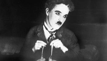 The Gold Rush, starring Charlie Chaplin, Georgia Hale, Mack Swain