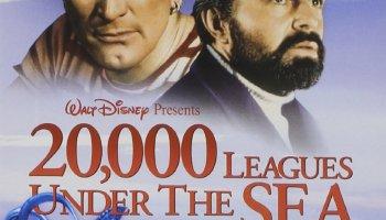 20,000 Leagues Under the Sea, starring James Mason, Kirk Douglas, Paul Lukas, Peter Lorre