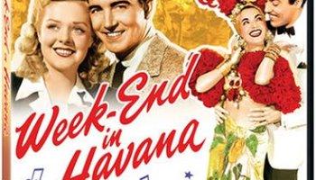 Weekend in Havana, starring Alice Faye, John Payne, Cesar Romero, Carmen Miranda - directed by Walter Lang