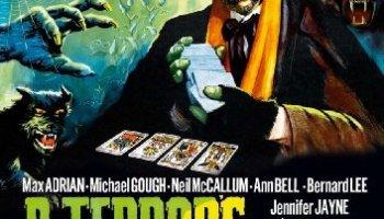 Dr. Terror's House of Horrors, starring Peter Cushing, Christopher Lee
