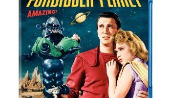 Forbidden Planet (1956) starring Leslie Nielsen, Walter Pidgeon, Anne Francis