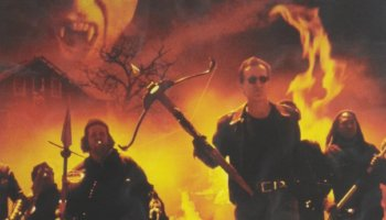 John Carpenter's Vampires (1998) starring James Woods, Daniel Baldwin, Sheryl Lee, Thomas Ian Griffith, Maximilian Schell