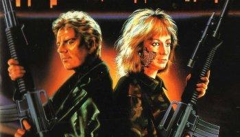 The Retaliator, aka. Programmed to Kill (1987) starring Robert Ginty Sandahl Bergman