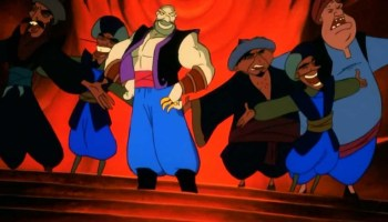 Song lyrics toAre You In Or Out?, sung inAladdin and the Forty Thieves