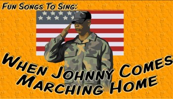 When Johnny comes marching home lyrics (1863) - written by Louis Lambert