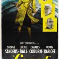 Lured, starring Lucille Ball, George Sanders, Boris Karloff