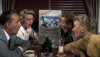 Song lyrics toSnow, as performed inWhite Christmas by Bing Crosby, Danny Kaye, Rosemary Clooney, Vera-Ellen