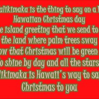 Mele Kalikimaka (Merry Christmas) Lyrics