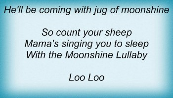 """Moonshine Lullaby song lyrics - performed in Annie Get Your Gun by Betty Hutton (and """"siblings""""), written by Irving Berlin"""
