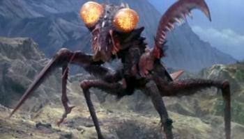 "Kamacuras (aka. Gimantis) - some of the villainous Kaiju in ""Son of Godzilla"""