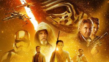 The Force Awakens (2015) starring Daisy Ridley, John Boyega, Adam Driver, Harrison Ford, Carrie Fisher