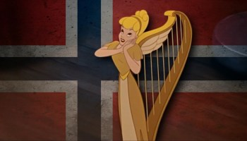 Song lyrics to My Favorite Dream (1947) Written by Bill Walsh and Ray Noble, Performed by Anita Gordon as the Singing Harp in Walt Disney's Fun and Fancy Free