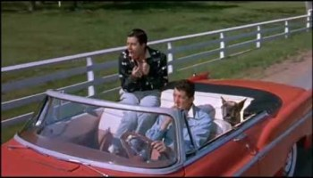 Song lyrics to A Day in the Country, Music by Sammy Fain, Lyrics by Paul Francis Webster, performed by Dean Martin and Jerry Lewis in Hollywood or Bust