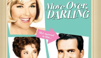 Move Over Darling, starring Doris Day, James Garner, with a classic bit by Don Knotts