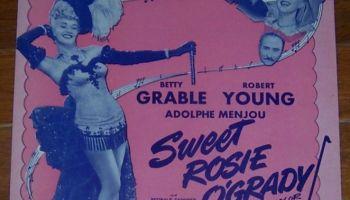 Song lyrics to My Heart Tells Me (Should I Believe My Heart?), Music by Harry Warren, Lyrics by Mack Gordon, sung by Betty Grable in Sweet Rosie O'Grady