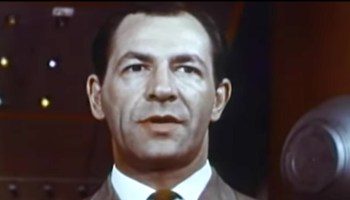 """Robert Hutton as Dr. Curtis Temple. The protagonist in """"They Came from Beyond Space"""""""