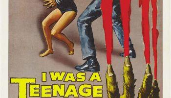 I Was a Teenage Werewolf (1957) starring Michael Landon, Whit Bissell