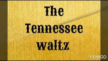 Song lyrics to The Tennessee Waltz (1948), lyrics by Redd Stewart, music by Pee Wee King