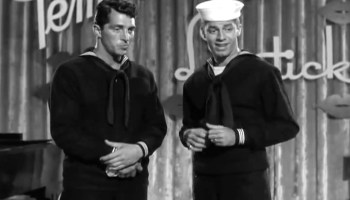 Song lyrics to Today Tomorrow Forever, Lyrics by Mack David, Music by Jerry Livingston, performed by Dean Martin, Jerry Lewis, and cast in Sailor Beware
