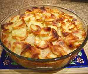 potato carrot layer bake.