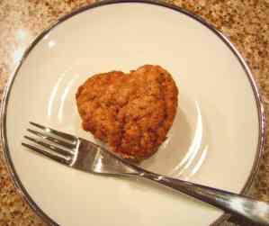 vegan apple cupcake.