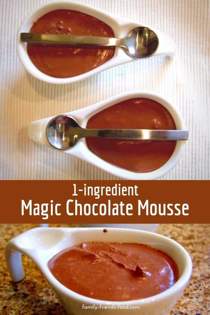 No eggs. No sugar. No cream. No nonsense! Just chocolate, whipped into dreamy fluffy billowy smooth chocolate mousse. An easy quick delicious vegan dessert!